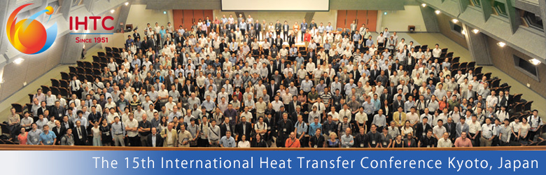 August the 10-15th 2014. International Heat Transfer Conference Kyoto, Japan